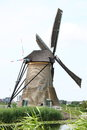 Windmill a beautiful old historic with four wings Royalty Free Stock Images