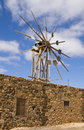 Windmill, Canary Islands Stock Photo