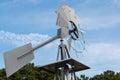 Windmill Close Up Royalty Free Stock Photo