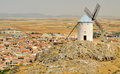 Windmill of Consuegra, Castilla-La Mancha, Spain Royalty Free Stock Photos