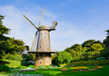 Windmill dutch in san francisco Royalty Free Stock Photography