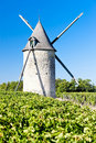 Windmill, France Stock Image