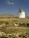 Windmill - Fuerteventura - Canary Islands Royalty Free Stock Photo