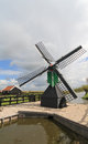 Windmill in holland Stock Photos