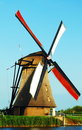 Windmill at Kinderdijk Royalty Free Stock Photos