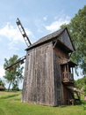 Windmill kozlak from woloskowola hola poland the type of in the open air museum of the chelm land and podlasie Stock Photos