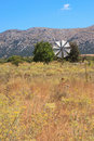 Windmill in the Lasithi Plateau Royalty Free Stock Image