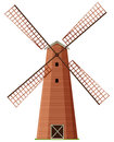 Windmill made of wood