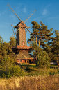 Windmill natascha the a ukrainian Royalty Free Stock Images