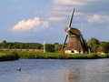 Windmill in Netherlands 2 Stock Photos
