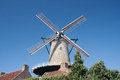 Windmill in Netherlands Royalty Free Stock Image