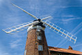 Windmill in norfolk england historic old weybourne Royalty Free Stock Image