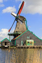 Windmill North Holland Royalty Free Stock Photo