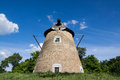 Windmill old near backa topola serbia Stock Images