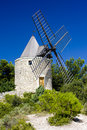Windmill in Provence Royalty Free Stock Photo