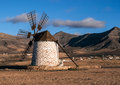 Windmill - Renewable Energy Stock Image