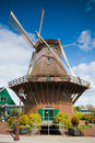Windmill from Sloten, Netherlands Stock Image