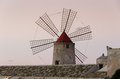 Windmill at Trapani Royalty Free Stock Photos
