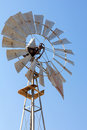 Windmill for Water Well Pump Closeup Royalty Free Stock Photo