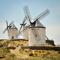 Windmills of Consuegra Stock Photos