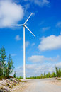 Windmills for renewable electric energy production, Finland