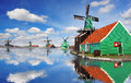 Windmills In Zaanse Schans, Am...