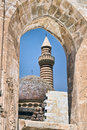 Window of Ancient Sultan Palace in Turkey Stock Photos