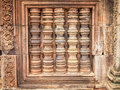 Window at Angkor Wat- Cambodia Royalty Free Stock Photo