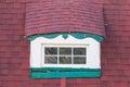 Window on attic Royalty Free Stock Photo