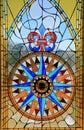 Window of Bartolomeu Dias Museum Royalty Free Stock Photo
