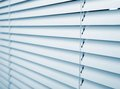 Window blinds white plastic close studio shot Royalty Free Stock Image