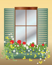 Window box Stock Photos