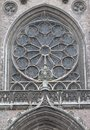 Window of Church of Saint Peter and Saint Paul in Ostend Royalty Free Stock Photo