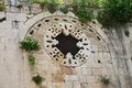 Window of church st peter in antakya turkey Stock Photo