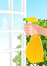 Window cleaning Stock Photos