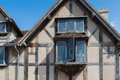 Window close up of the ancient house william shakespeares birthplace in stratford upon avon uk Stock Photo