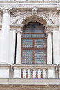 Window and columns Royalty Free Stock Photo