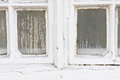 Window condensation water on an old pane Royalty Free Stock Photography