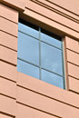Window detail of modern office building Royalty Free Stock Image