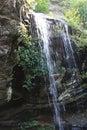 Window Falls at Hanging Rock Royalty Free Stock Photo