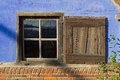 Window farm in dutch open air museum in arnhem netherlands Royalty Free Stock Photos