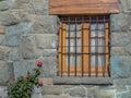 Window flowers Royalty Free Stock Photo