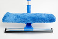 Window mop wiper universal microfiber and rubber blade in Stock Photography
