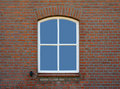 Window in old farmhouse Stock Image