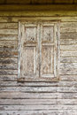 Window of old wooden house, Thai style Royalty Free Stock Photo