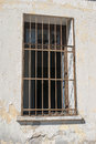 Window prison jerusalem old city Royalty Free Stock Photo