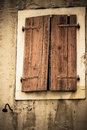 Window shutters Royalty Free Stock Image