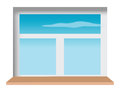 Window sill Royalty Free Stock Photo