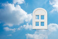 Window in the sky Royalty Free Stock Photo