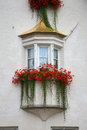 Window in South Tyrol - Italy Stock Images